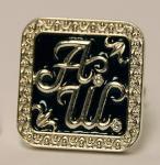 Запонки из серебра и золота на заказ с монограммой, инициалами, мужские и женские, детские, корпорат