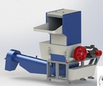 Моющая дробилка для тканных материалов PZO-400 DMS