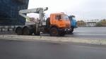 Седельный тягач с кму 9 тонн