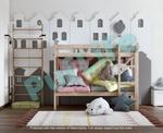 Двухъярусные кровати из массива сосны от производи